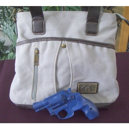"Camille Conceals Canvas Concealed Carry ""City Bag"""