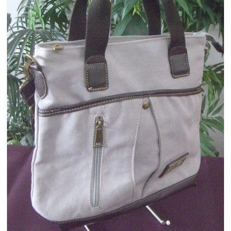 "Camille Conceals Canvas Concealed Carry ""City Bag"" Profile"