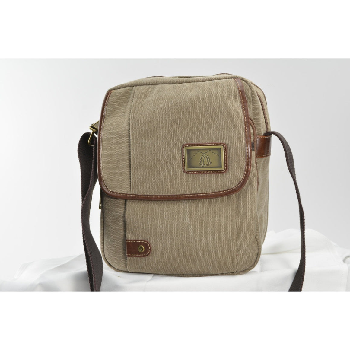 Camille Conceals Fawn Canvas Concealed Carry Bag - Large Top Draw™ Holster !