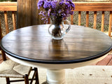 NEW! Vintage Oak Pedestal Table
