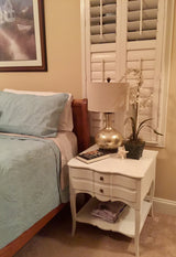 French Provencal Nightstand (Occasional Table)