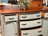 Farmhouse Gray-Blue Buffet or Console
