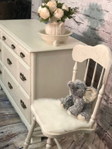 White Cottage Chair