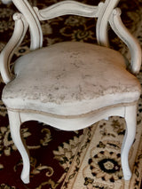 French Country Round Chair