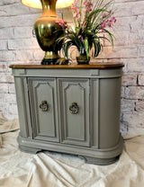 Earthy Gray Entry Table