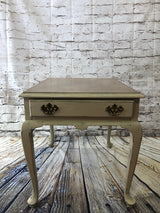 Farmhouse Style Side Tables in Country Tan