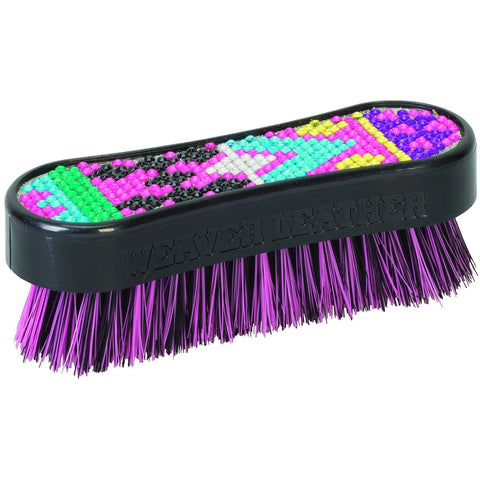 69-6085- B5 Bling Brushes Aztec Pink-Weaver Leather Livestock-Ludlow Livestock Supply