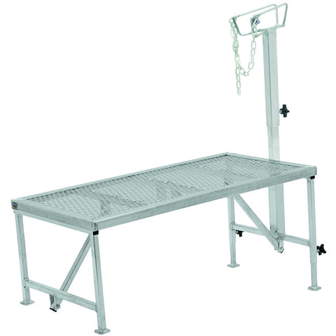 Aluminum Trimming Stand with Adjustable Headpiece-Weaver Leather Livestock-Ludlow Livestock Supply