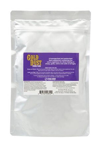 Stock Show Secrets Gold Dust Powder
