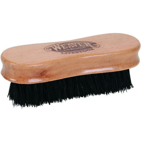 Pig Face Brush Wooden Handle-Weaver Leather Livestock-Ludlow Livestock Supply