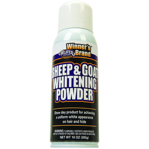 Sheep and Goat Whitening Powder-Weaver Leather Livestock-Ludlow Livestock Supply
