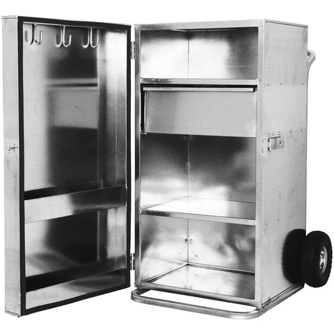 Single Door Galvanized Showboxes-Weaver Leather Livestock-Ludlow Livestock Supply