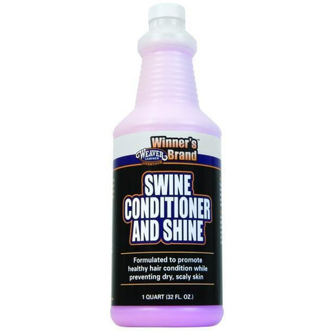 Swine Conditioner and Shine-Weaver Leather Livestock-Ludlow Livestock Supply