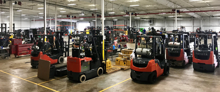 Looking for a used Toyota Forklift?