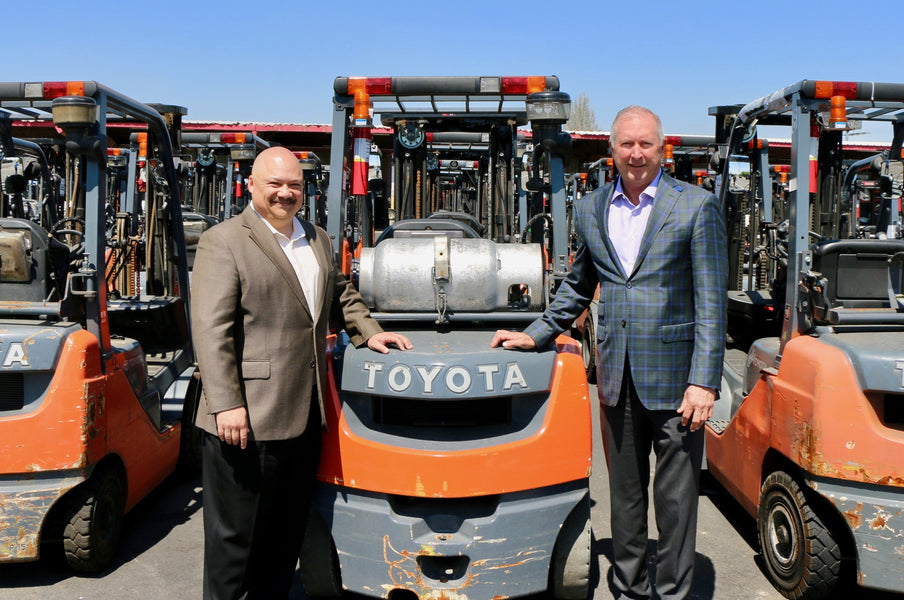 TOYOTA INDUSTRIES COMMERCIAL FINANCE PARTNERS WITH SHOPPA'S MATERIAL HANDLING TO OPEN E-COMMERCE WEBSITE FOR SALE AND RENTAL OF OFF LEASE FORKLIFTS TO THE PUBLIC