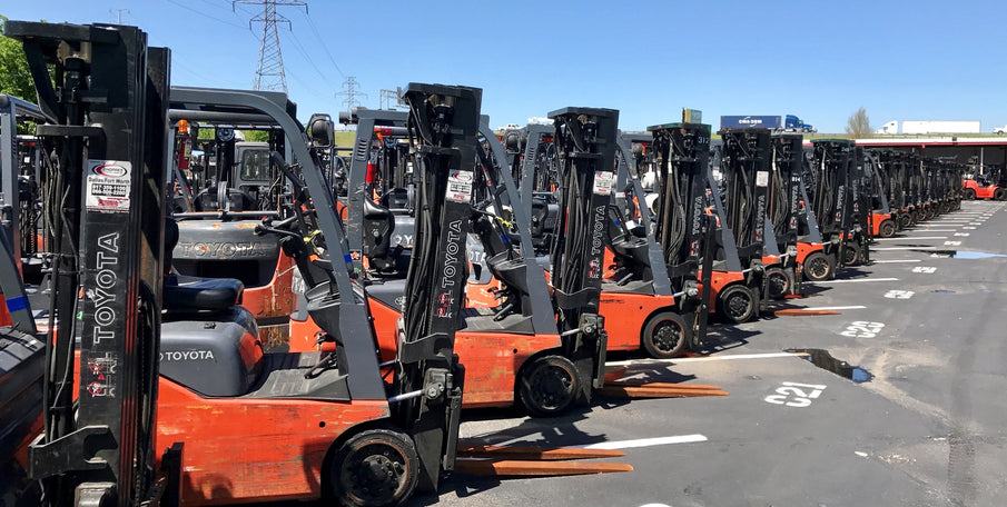 Hundreds of used Toyota forklifts to choose from!