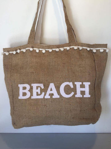 Hesian Bag - Beach