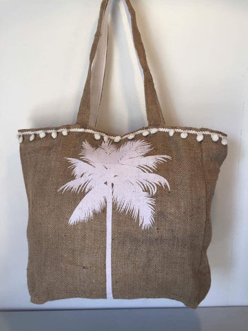 Hesian Bag - Palm Tree (P)