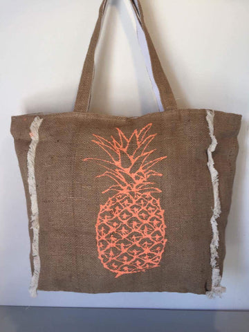 Hesian Bag - Pineapple (F)