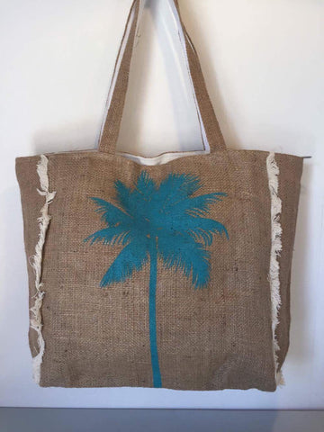 Hesian Bag - Palm Tree (F)