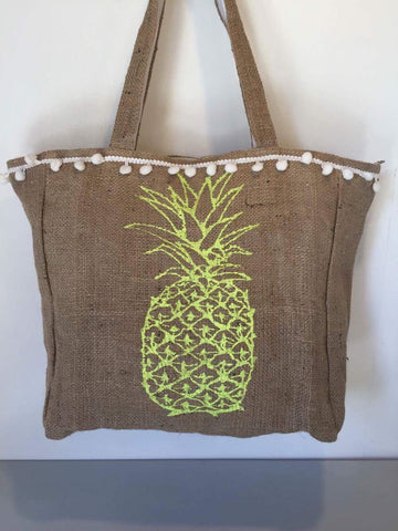 Hesian Bag - Pineapple (P)