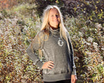 Zen Fleece Cowl Neck Sweatshirt