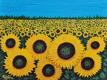 """Jacy's Sunflowers""  by Ricky Trione  ""Canvas Prints, Gallery Wrapped"""