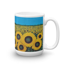 """Jaycees Sunflowers Mug"" by Ricky Trione"