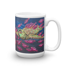 """Sea Turtle Mug"" by Ricky Trione"