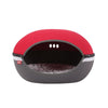 Ibiyaya Little Arena Pet Cave, Collapsible Pod for Cats & Small Dogs, Red