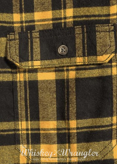 Lightly Distressed Flannel