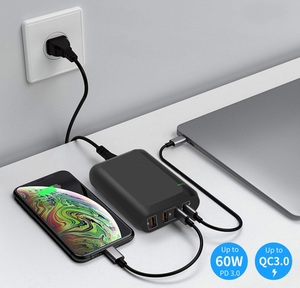 Technoamp 66W USB C PD3.0 PPS 60W Quick Charge 4.0 & 3Port Quick Charge 3.0 WCTC66