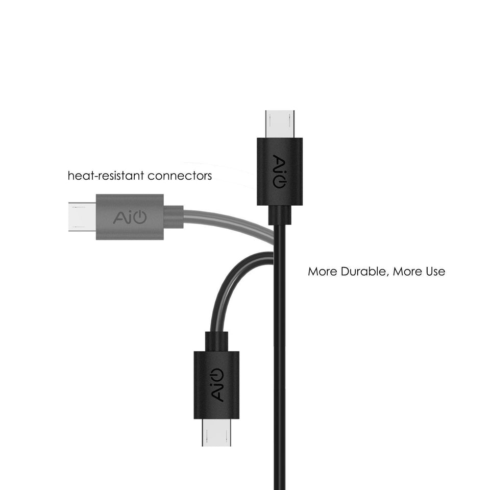 AUKEY CB-D5 Micro USB Cable (5 Pack, 3 x 3.3ft, 2 x 1ft) aukeyph