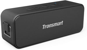 Tronsmart T2 Plus 20W Outdoor Waterproof Speakers Bluetooth 5.0, IPX7 Portable Wireless Speakers, 24-Hour Playtime, TWS, Built-in Mic, Speaker