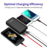 Tronsmart EDGE20 20000mAh QC 3.0 Portable Charger with 6A Output,USB Type C External Battery
