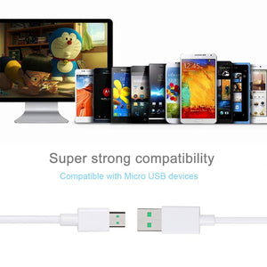 Technoamp 4A Micro USB VOOC Flash Charge Cable 3.3ft CAVOMR