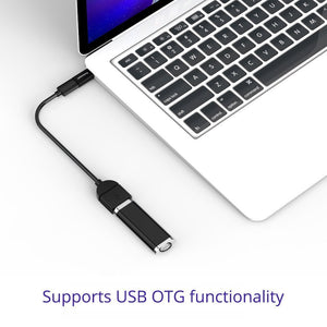 Tronsmart 3 Pack Micro USB to USB C Adapter OTG Ready CTMF3
