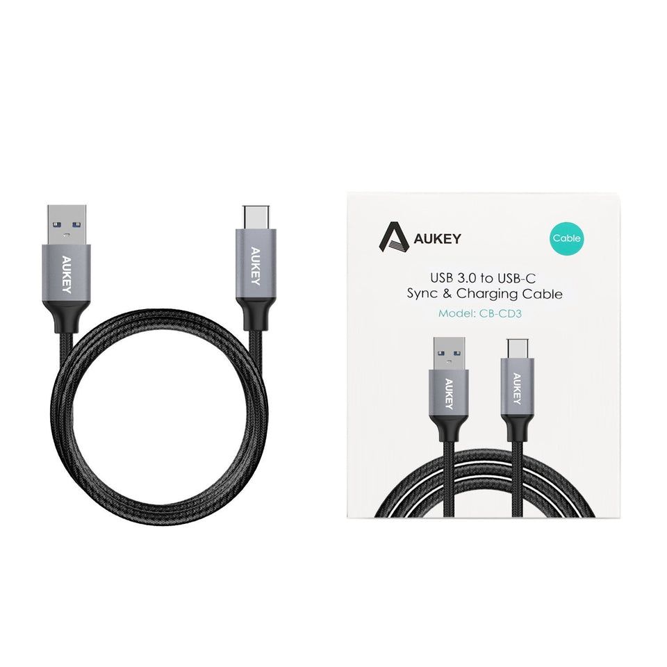 Aukey CB-CD3 6.6ft type C cable aukeyph