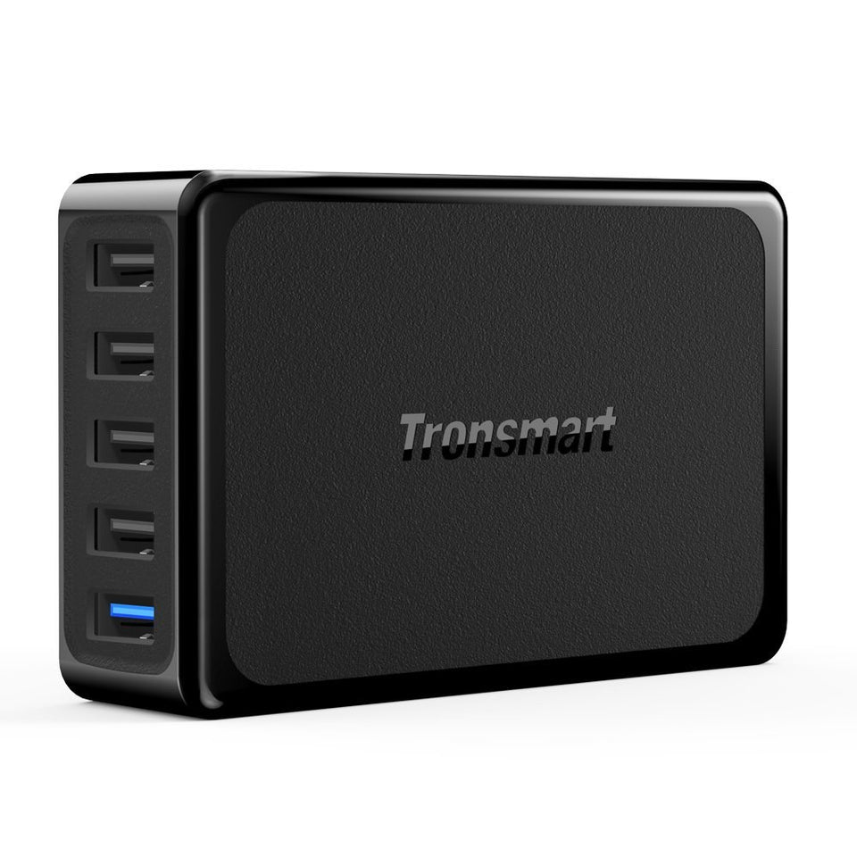 Tronsmart 54watts 5 Port USB Charger with Quick Charge 3.0 U5PTA