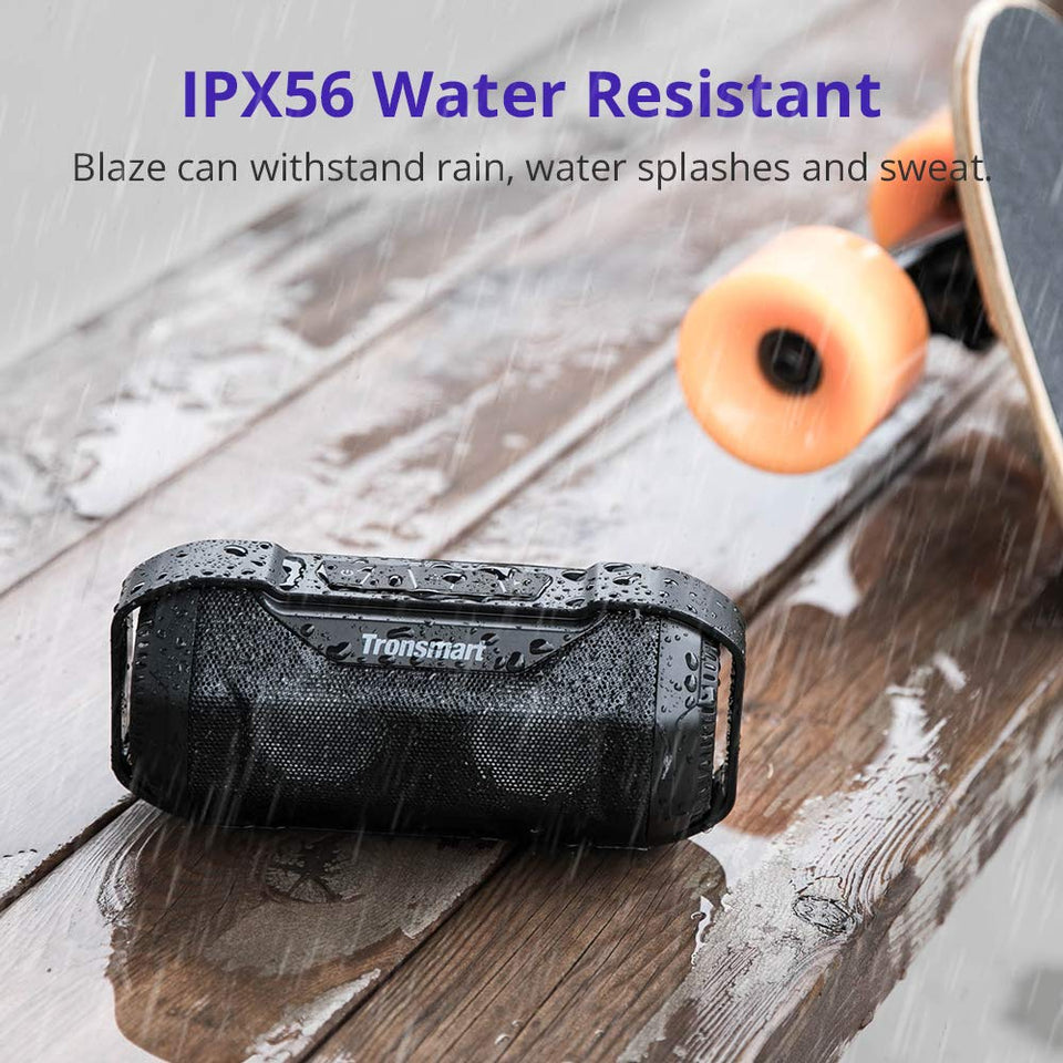 Tronsmart Blaze Bluetooth Speakers Waterproof IPX56 14W Superior Bass Sound