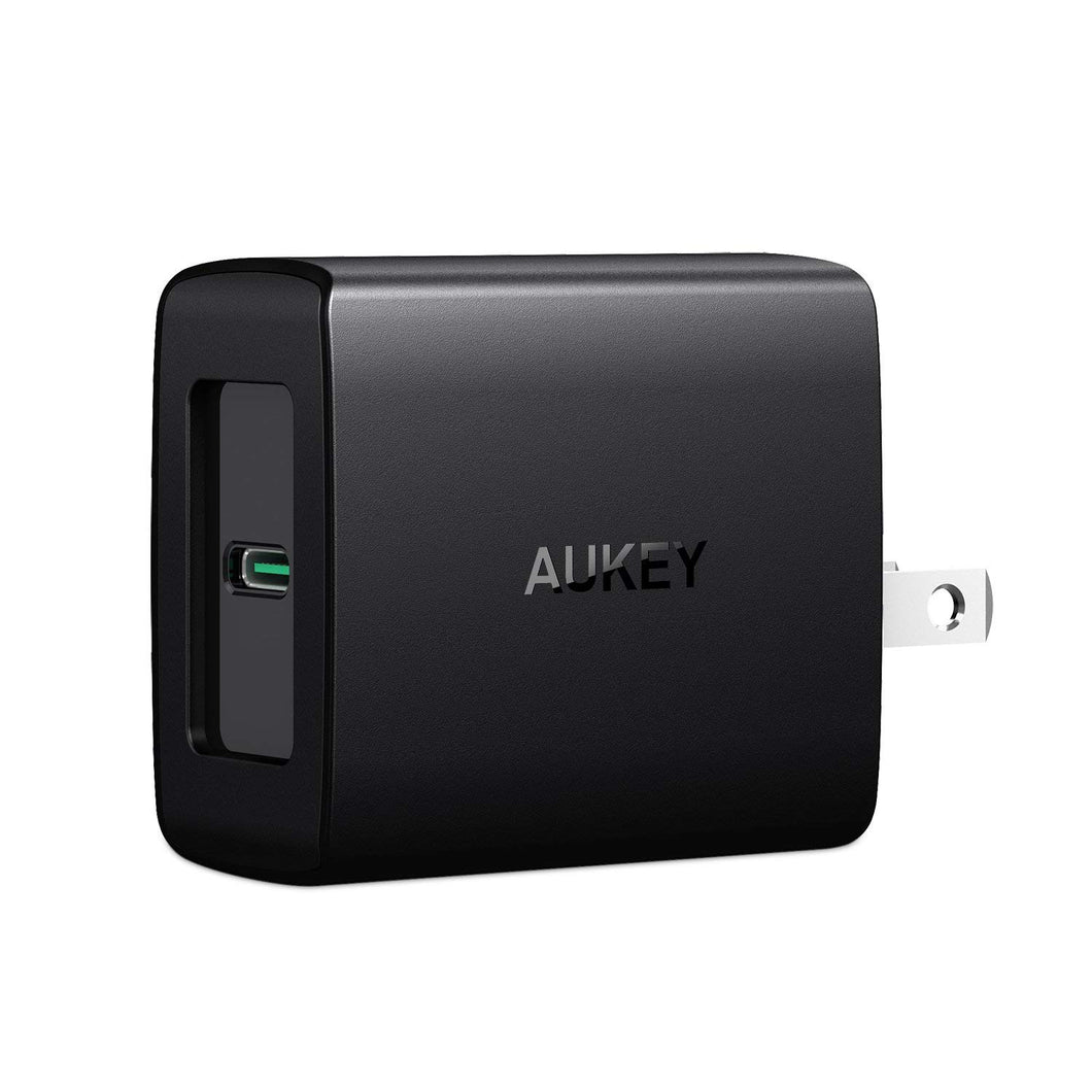 Aukey PA-Y7 USB C Power Deliver Wall Charger 29 Watts USB PD