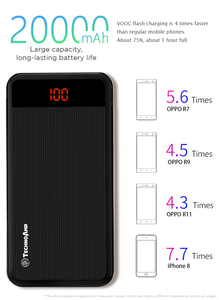 Technoamp VOOC/DASH Charging Power Bank 20000mAh 5V4A PBVC20