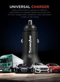 Technoamp 5A Super Charge/Quick Charge3.0 Car charger dual port 4.5V5A 5V2.4A