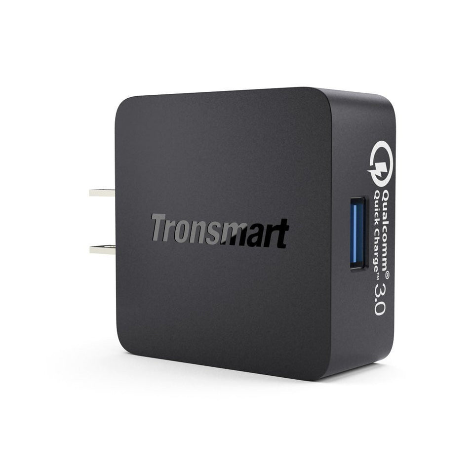 Tronsmart WC1TC Wall Charger w/ Quick Charge 3.0 Free USB Type C Cable