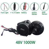 Bafang 8fun 48v 1000w BBSHD BBS03 electric bike motor mid drive motor kits 850C display