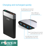 New 2019 VINSIC 20000mAh PowerBank w/ dual Quick Charge 3.0/Type-C 5V/3A