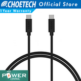 Choetech USB C To USB C PD 3.3ft USB 2 Cable Power Delivery