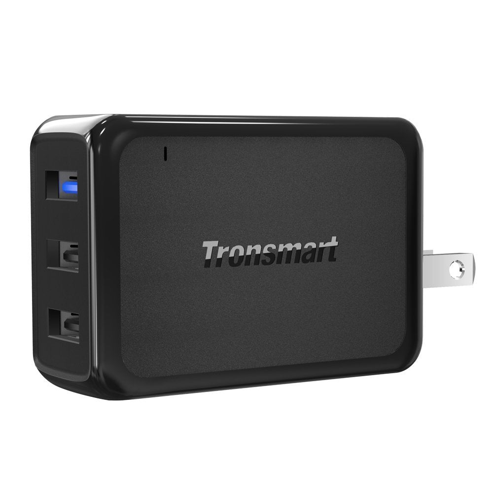 Trosnmart 3 Port Wall Charger w/ Quick Charge 3.0 W3PTA