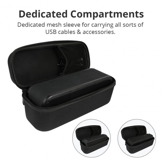 Hard Travel Carrying Case for Tronsmart Force/ T6 PLUS / T6 PLUS Enhanced Bluetooth Speaker
