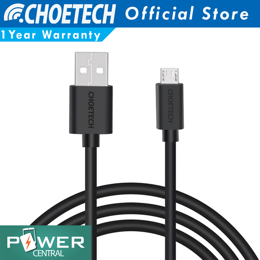 Choetech Micro USB Cable 3.3ft Quick Charge 3.0 Ready